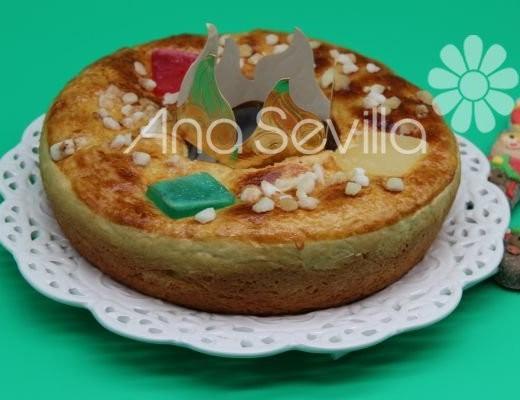 Roscón de Reyes sin huevo olla gm
