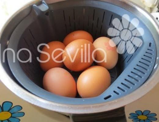 Cocer los huevos
