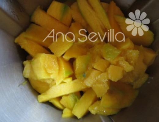 Triturar el mango