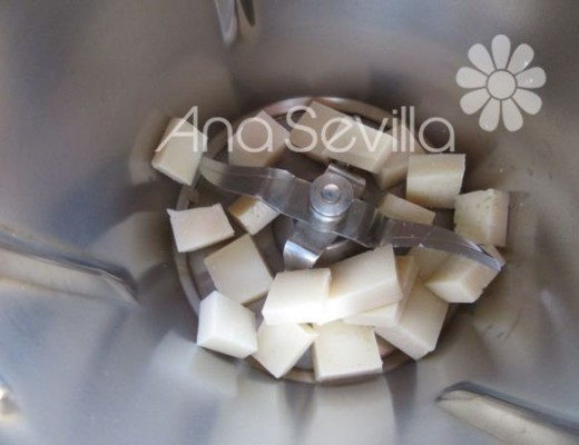 Rallar el queso