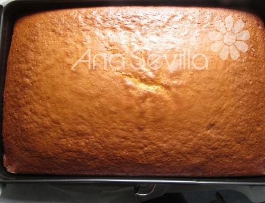 Torta de llanda de naranja Thermomix