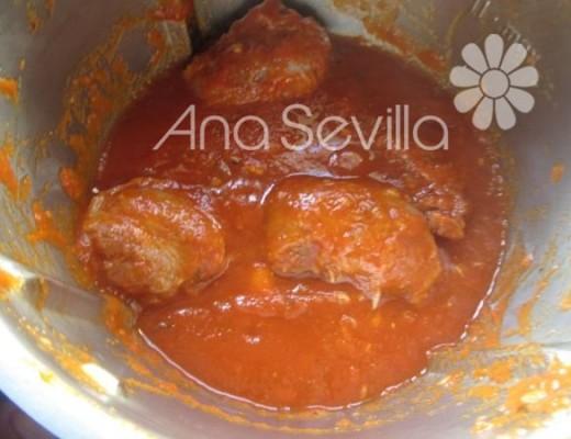 Carrilleras con tomate thermomix