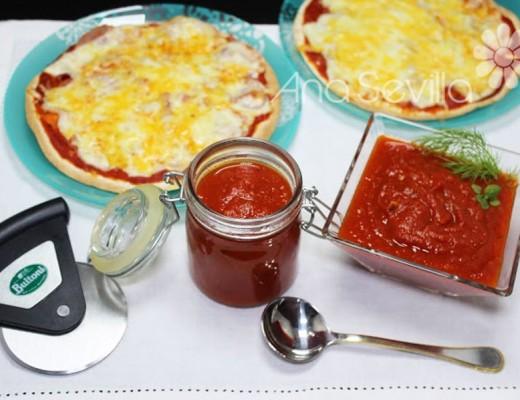 Salsa para pizzas