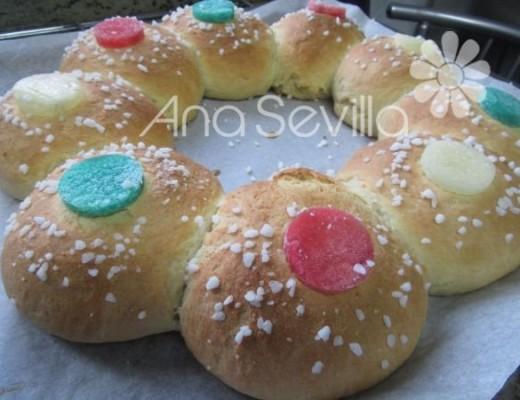 Roscón de Reyes sin huevo