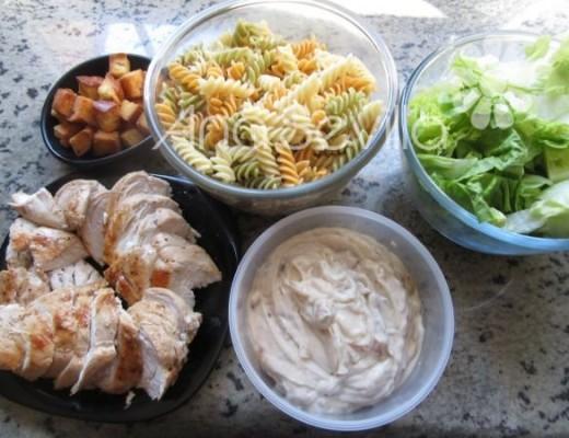 Con todos los ingredientes preparados, montamos el plato.