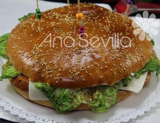 Hamburguesa de lomo y queso