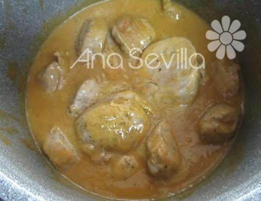Solomillo en salsa de carne