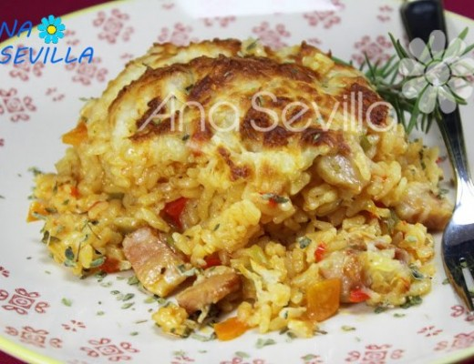 Arroz sabor pizza