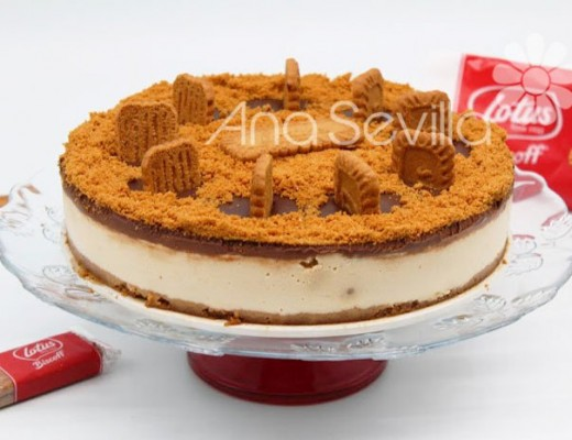 Cheesecake de galletas Lotus