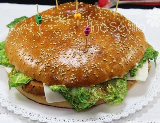 Hamburguesa de lomo XXL