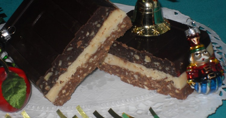 Turrón tres chocolates Thermomix