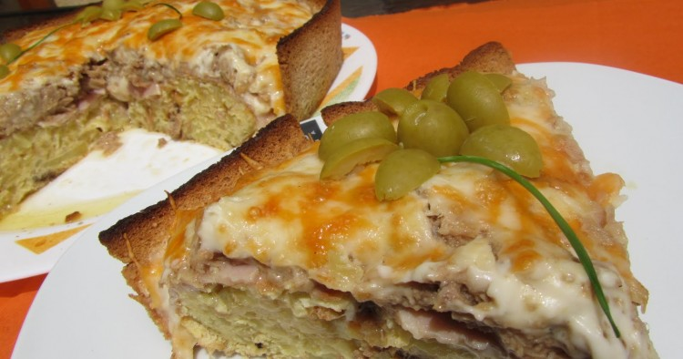 Tarta de tortilla Thermomix