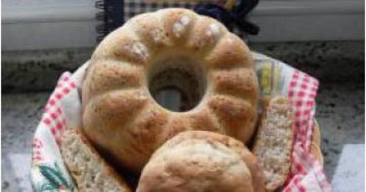 Pan de jamón y ajo