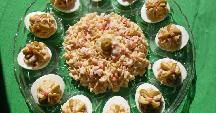 Huevos a la mayonesa de mar Thermomix