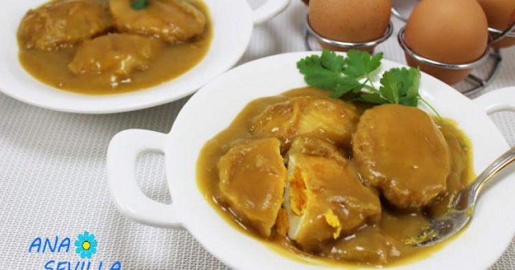 Huevos en salsa española