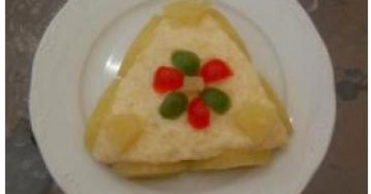Pastel de Piña semihelado