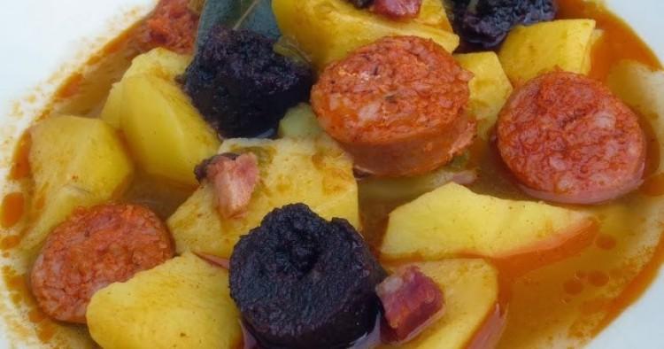 Patatas de fabada