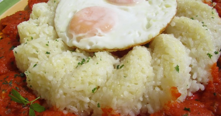 Arroz blanco con tomate expres Thermomix