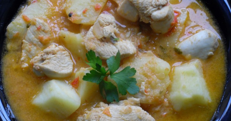 Guiso de patatas con pollo