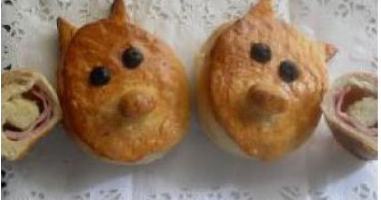 Porkys de pan de brioche