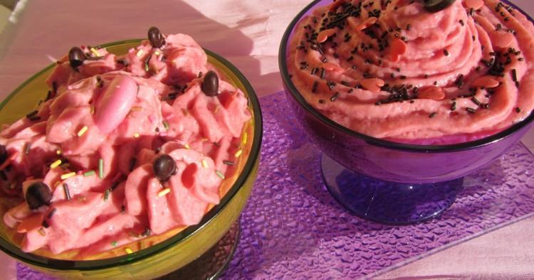 Mousse de fresas Thermomix