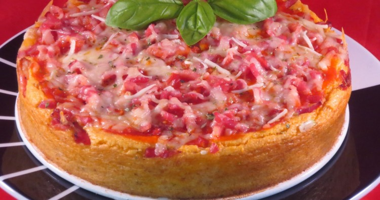 Cheescake de pizza