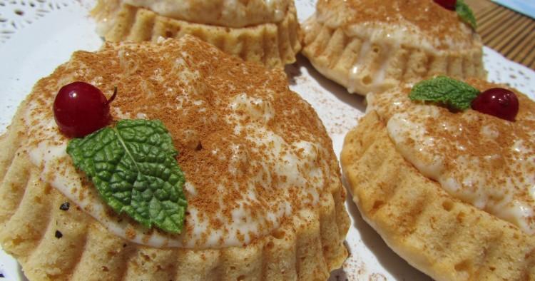 Tartaletas de arroz con leche Thermomix