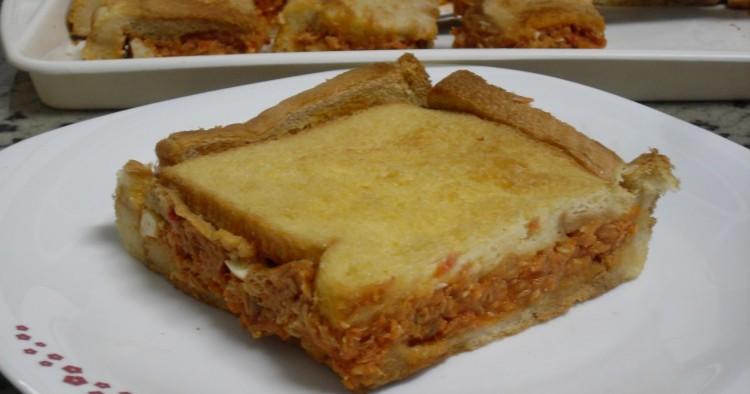 Sandwich de bonito y tomate Thermomix