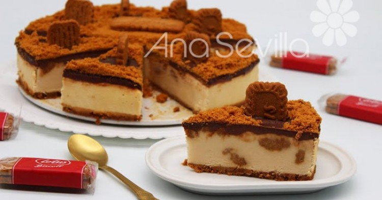 Cheesecake de galletas Lotus