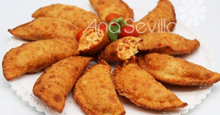 Empanadillas de pollo asado