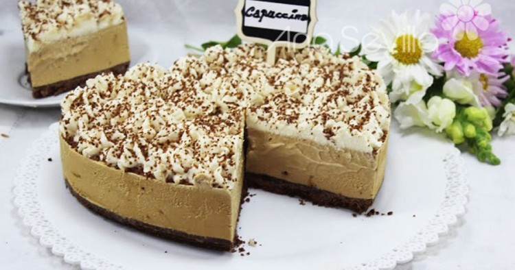 Tarta helada capuccino