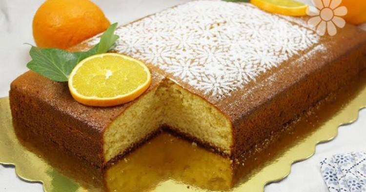 Torta de llanda de naranja