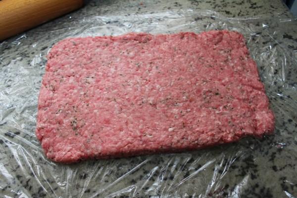 Rollo de carne relleno olla GM