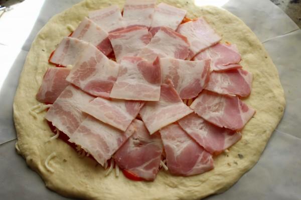 Calzone de bacon olla GM