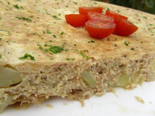 Tortilla de atún y patata Ana Sevilla con Thermomix