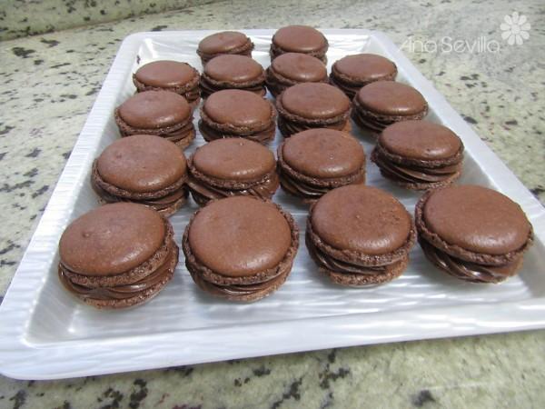 Macarons de chocolate Thermomix