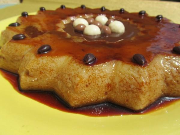 Flan de peras y salsa de chocolate Thermomix Ana Sevilla
