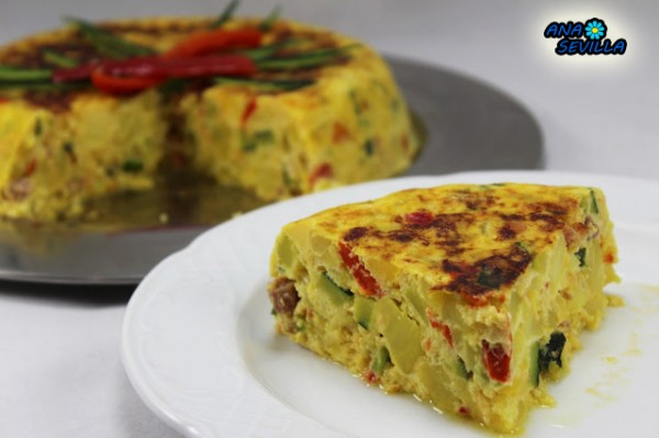 Tortilla Campesina o paisana Thermomix