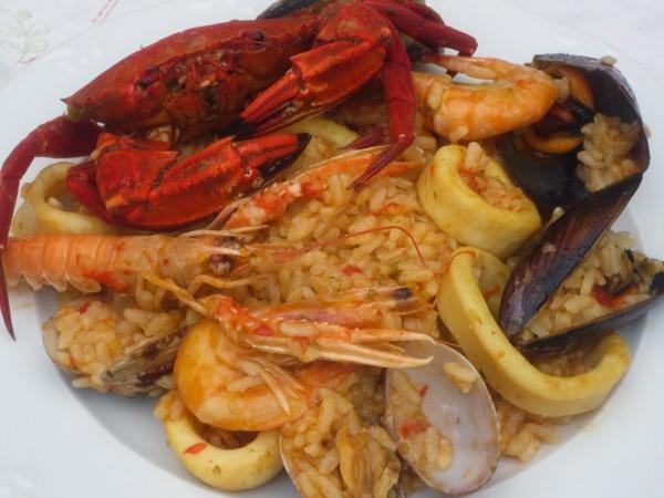 Paella de marisco Ana Sevilla