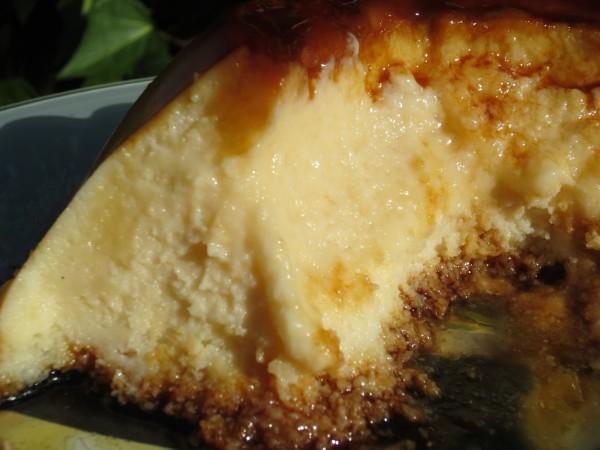 Flan de queso y coco Thermomix