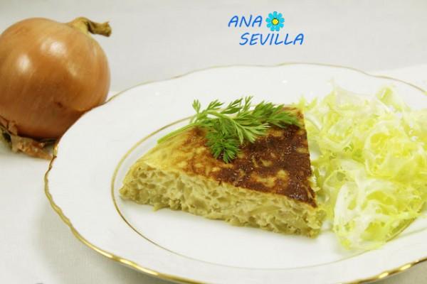 Tortilla de cebolla ración olla GM