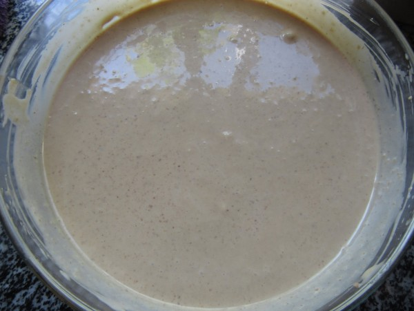 Mousse de nueces