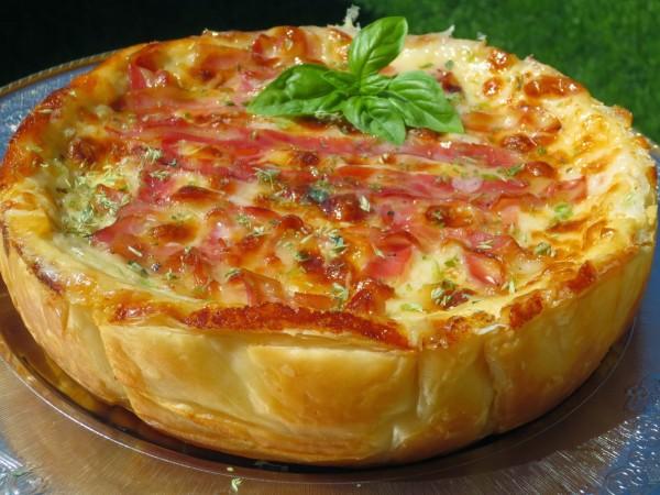 Quiche de croque-pizza Ana Sevilla olla GM