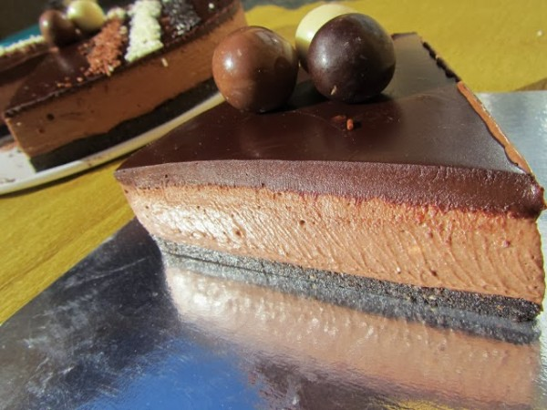 Cheescake chocolatísimo Ana Sevilla