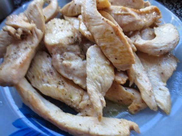 Fajitas o tacos de pollo olla GM