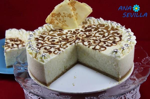 Tarta de arroz con leche Thermomix Ana Sevilla