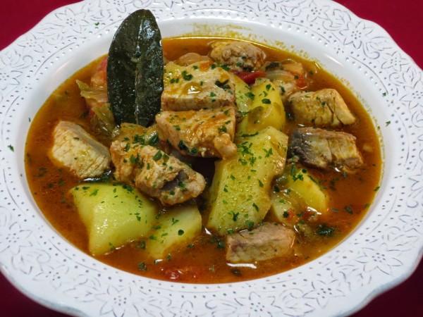 Marmitako de bonito Ana Sevilla cocina tradicional
