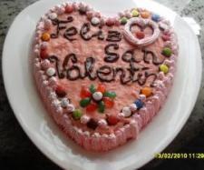 Tarta de San Valentín thermomix