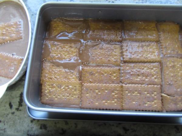 Tarta de chocolate y galletas Thermomix