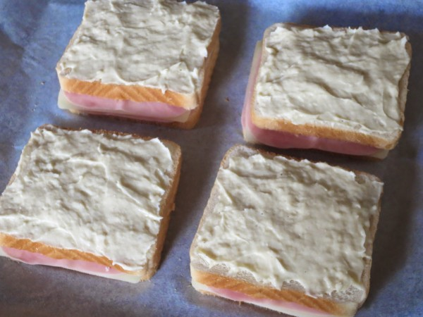 Sandwich Croque-monsieur Thermomix